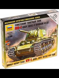 """Сборная модель """"Советский танк КВ-1 с пушкой Ф32"""" 6190 3725979 3725979"""