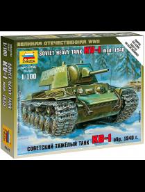 """Сборная модель """"Советский тяжёлый танк КВ-1"""" 6141 473942 473942"""