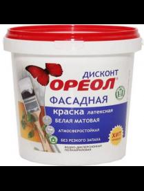 (095626) Краска ВД Ореол Дисконт фасадная атмосферостойкая 6.5 кг