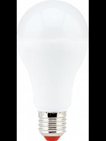 (096612) Лампа св/д Ecola ЛОН A65 E27 17W 2700K 128x65 пласт./алюм. Premium D7RW17ELC