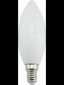 (096605) Лампа св/д Ecola свеча E14 9W 2700K 100x37 Premium C4MW90ELC