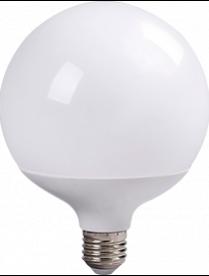 (096610) Лампа св/д Ecola шар G120 E27 30W 2700K 170x120 320° пласт./алюм. Premium K7LW30ELC
