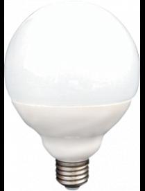 (096609) Лампа св/д Ecola шар G95 E27 15.5W 2700K 135x95 (15W)пласт./алюм.Premium K7LW15ELC