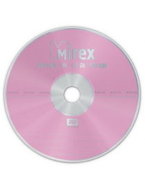 DVD-RW 4.7Gb 4x bulk 1шт. Mirex /5730900/