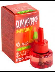 (061974) Комарофф Народный жидкость 45 ночей б/запаха 30мл