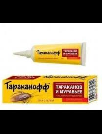 (104091) ТАРАКАНОФФ Контрудар-гель от тараканов и муравьев 20мл. туба/24