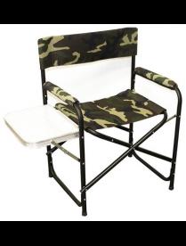 "Кресло складное ""Следопыт"" 585*450*825 мм, со столиком, Fkk. алюминий (2) PF-FOR-AKS04"