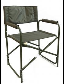 """(107646) Кресло складное """"Следопыт"""" 585*450*825 мм, сталь 20мм, хаки PF-FOR-SK05"""