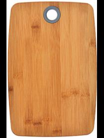 Доска разделочная VETTA Гринвуд бамбук, силикон, 30х20х1,0см 851-182