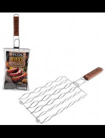 Решетка гриль для сосисок, колбасок, шпикачек ECOS, размер: 27*17 см 999672