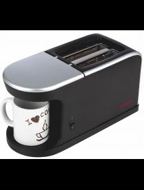 Кофеварка ENERGY EN-111 2 в 1 с тостером