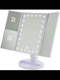 Зеркало косметическое ENERGY EN-799Т, LED подсветка, трехстворчатое