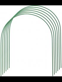 Дуги Парниковые 0,75 х 0,9 х 6 шт 2 м труба металл в ПВХ d=10 мм 'Урожайная сотка'