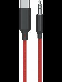 A/V ШНУР EZRA LD06 (штекер TYPE-C - штекер Джек 3,5мм) 1м