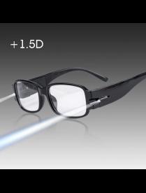 Орбита OT-INL71 Черные очки увеличительные с подсветкой (+2.0)