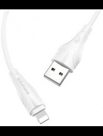 Кабель USB BOROFONE для Apple 8-pin BX18 3 м.