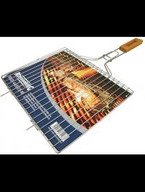 Решетка гриль для мяса средняя, RUS-440007-M 34 х 28,6 см