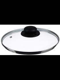 Крышка стеклянная 22см с метал.ободком в сборе 848-061
