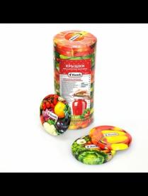 Крышка винтовая D=82мм, в упаковке 20 шт, овощи, NTO2379 Komfi/720/20
