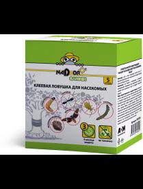 Клеевая ловушка для насекомых «Ловчий пояс» 5м, Nadzor PEST20 /30