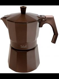 Кофеварка гейзерная TalleR TR-11322, 300мл, черн+кор