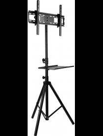 Arm media TR-STAND-2, black, Телескопическая стойка-тренога для ТВ