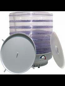 Сушилка для овощей и фруктов Ветерок-2 ЭСОФ-0.6/220-02 6 прозрачных поддонов + поддон для пастилы