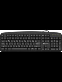 Клавиатура DEFENDER Office HB-910 RU 45910