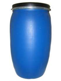 Бочка 127 дм3 (Стандарт(ЗТИ) синий) с крышкой и хомутом г.Самара РСВ-124137