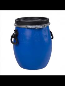 Бочка 20 дм3 (Стандарт(ЗТИ) синий) с крышкой и хомутом г.Самара РСВ-304159