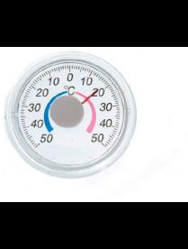 Термометр оконный Биметаллический круглый ТББ блистер