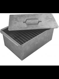Коптильня двухъярусная, 380х272х167*0,5мм, в коробке 182517