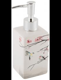 """Дозатор для жидкого мыла """"Сакура"""" DIS-S, керамика 006517"""