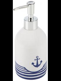 """Дозатор для жидкого мыла """"Морское путешествие"""" DIS-TT, керамика 008263"""