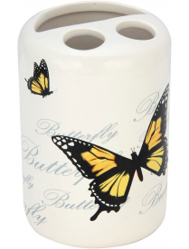 "Держатель для зубных щеток ""Бабочки"" TBH-FLY, керамика 002793"