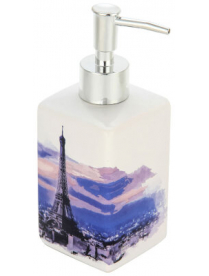 """Дозатор для жидкого мыла """"Париж"""" DIS-P, керамика 002908"""