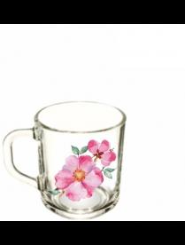 Кружка 200мл Акварельные цветы OCZ1335/1AKVA (20)