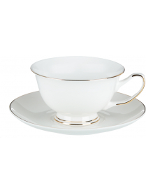Набор чайный 12 пр., 220мл, 15см, костяной фарфор Жемчуг MILLIMI 802-081