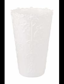 Ваза д/цветов d-125мм белый (24) М7596