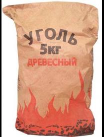 Уголь древесный 5кг (Талица)