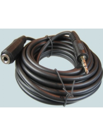A/V ШНУР 3.5(шт)-3.5(гн) стерео 3м 3-0016 удлинитель