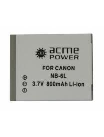 AcmePower AP-NB-6L аналог Canon NB-6L