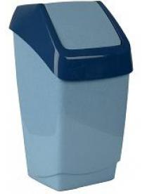 (004868) Контейнер для мусора ХАПС 15л мраморный М2471