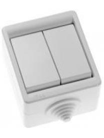 (25230) А510-215 Выключатель 2 ОП с подсветкой Пра