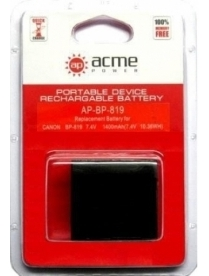 AcmePower AP-BP-819 для Canon
