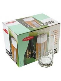 (01720) 42082 БОР Кошем Стаканы для пива 380мл 6шт.