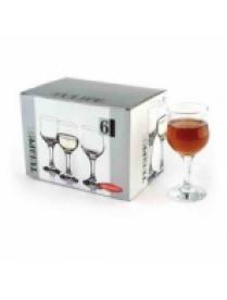 (008957) 44167Бор Набор бокалов Тулип 6шт 200 мл белое вино