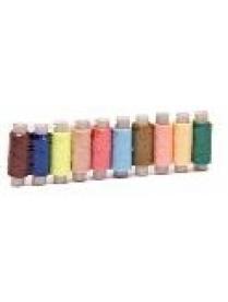 (26596) Нитки Runis полиэстер цветные 40 (намотка 200м) 12021/6-026 308-549