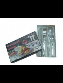 (01341) 1с268 Набор столовый 24 предмета с ножом 3мм
