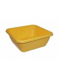 (16996) М2578 Таз квадратный 12л Жёлтый (10)